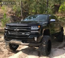 Chevrolet Silverado Lifted 2017 Chevrolet Silverado 1500 Fuel Maverick Pro Comp