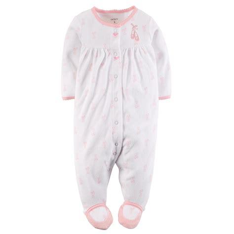 Carters Sleeper by S Newborn S Terry Cloth Sleeper Pajamas