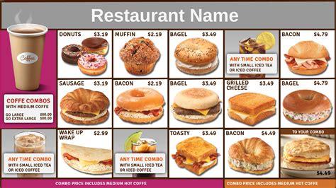 food menu prices fast food restaurants food ideas