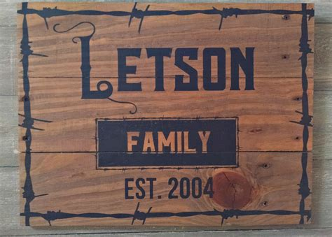 personalized est signs established home decor signs rustic family name established sign custom rustic wood signs est