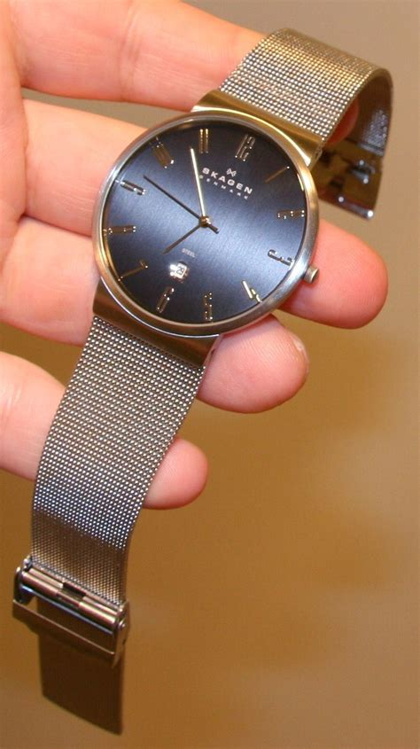 skagen 355xlssb steel collection review distinctly