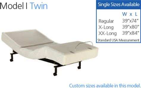 craftmatic twin bed adjustable twin bed craftmatic 174 adjustable beds