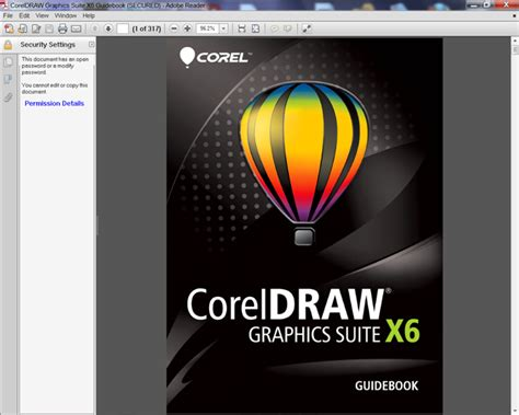 Corel Draw X6 Book | guide book requires a password coreldraw graphics