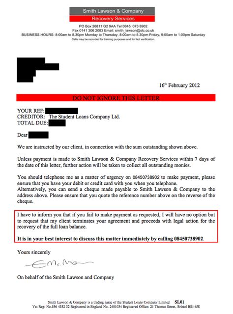Letter From Student Loan Company Student Loans Company Agrees To Stop Sending Letters From A Debt Collection Agency