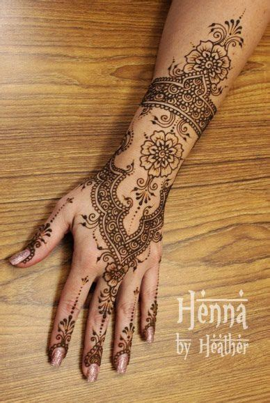 tattoo on indian hand beautiful henna and style on pinterest