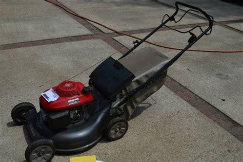 honda quadra cut system hrr  lawn mower model hrrdc sn mcg  lake altoona