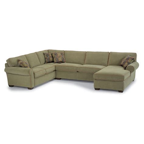 flexsteel vail sofa price flexsteel 3305 sect vail sectional discount furniture at