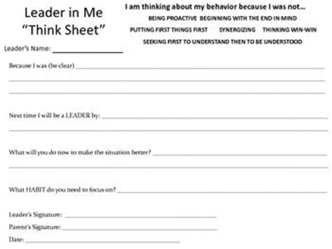 Leader In Me Worksheets by 101 Best Images About Problem Solving Ideas On