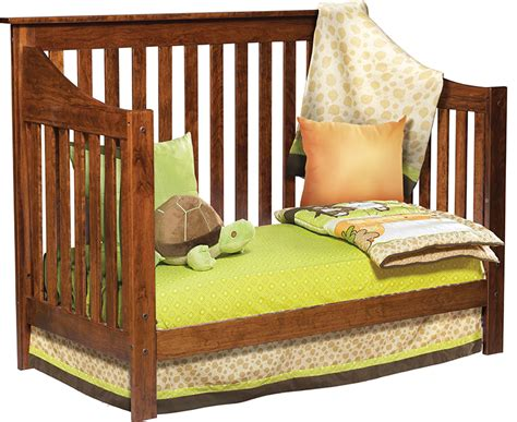 christen the bed christian jacob convertible crib amish traditions wv