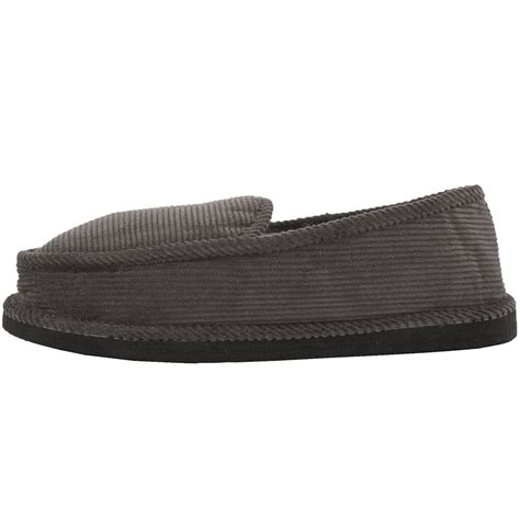 corduroy house shoes mens slippers house shoes corduroy color slip on moccasin