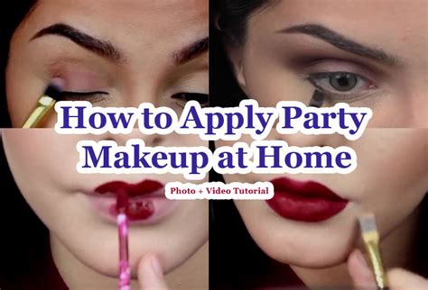 how to apply hippie makeup 10 steps with pictures wikihow how to apply party makeup at home follow these 10 steps