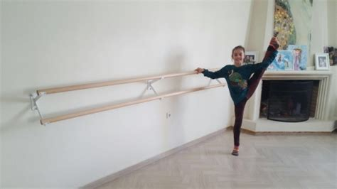 double ballet barres   wall brackets code