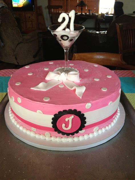 martini birthday cake love this idea round cake with a martini glass on top