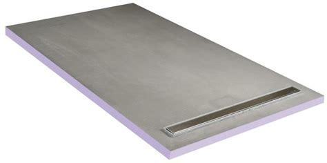 receveur 224 carreler avec caniveau 160x90 cm q board