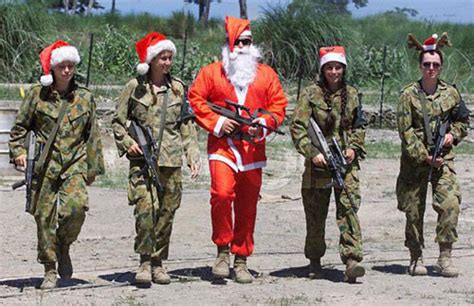 santa in the military 1funny com