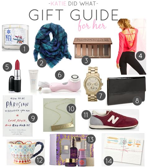 gift guide for women gift guide for her katie did what