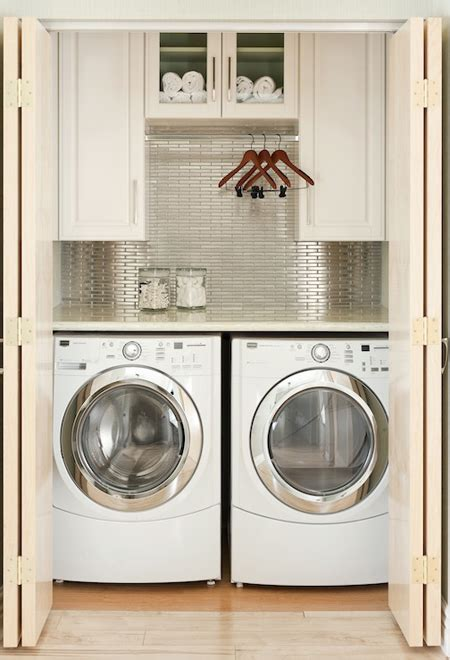 10 Ideas For When Your Laundry Room Is A Closet Laundry Closet Door Ideas