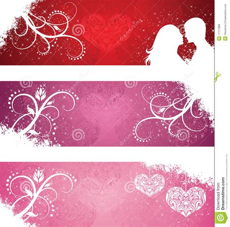day banners free s day banners royalty free stock photos image