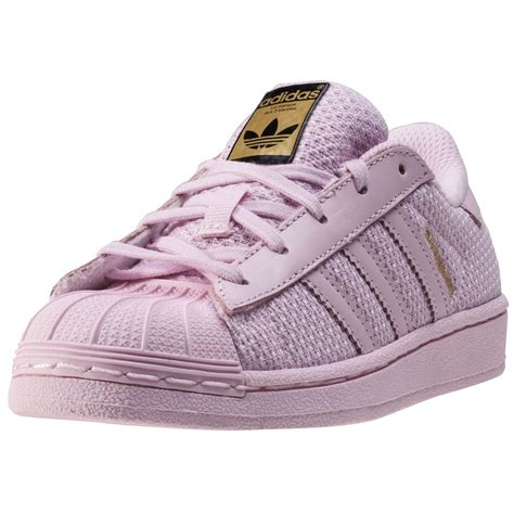 adidas superstar c toddler trainers in blush pink