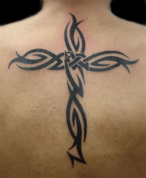 cross tattoos for and their meanings designs