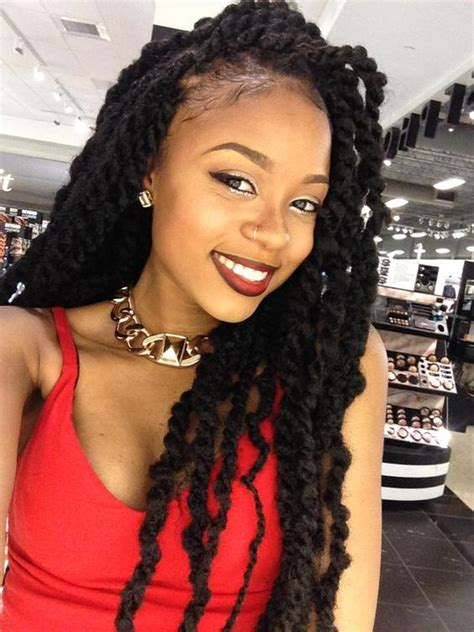 black zandi spring twist hair dopy marley twists hairstyles 2017 spring blackhairlab com