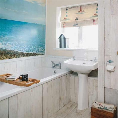 beach hut style bathroom nautical bathroom ideas housetohome co uk
