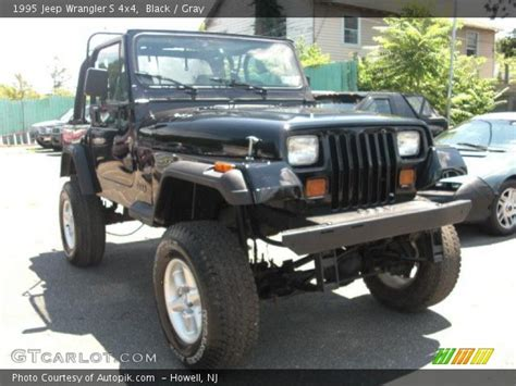 how cars run 1995 jeep wrangler interior lighting black 1995 jeep wrangler s 4x4 gray interior gtcarlot com vehicle archive 32855944