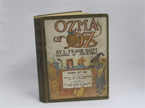 ozma of oz large print books ozma of oz by l frank baum antique 1907 hardcover book