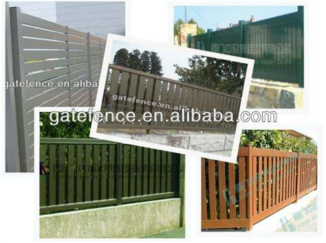 tür aluminium dekor vorgarten zaun