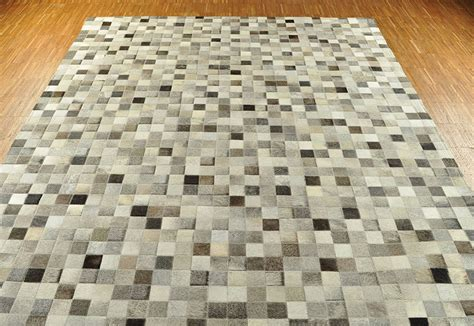 kuhfell teppich kuhfell teppich mix grau 200 x 160 cm patchwork
