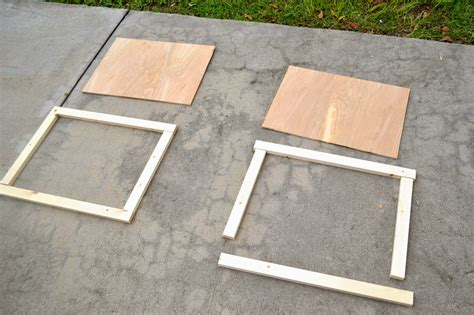 Building Simple Cabinet Doors Seesaws And Sawhorses Diy Simple Cabinet Doors