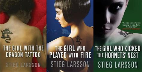 dragon tattoo trilogy the millennium trilogy series thots and expressions