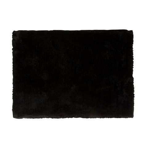 Tapis Shaggy 970 by Tapis Noir 224 Poils Longs 160x230cm Jazz Textiles Et