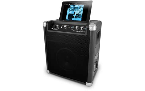 Speaker Wirelees alesis transactive wireless portable powered bluetooth
