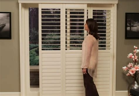 Bypass Shutters For Patio Doors by Newstyle Hybrid Shutters Douglas