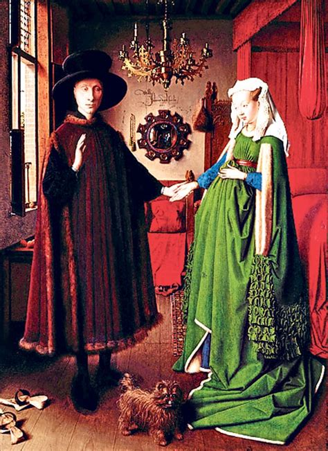 the arnolfini wedding portrait mirrors in in pictures telegraph