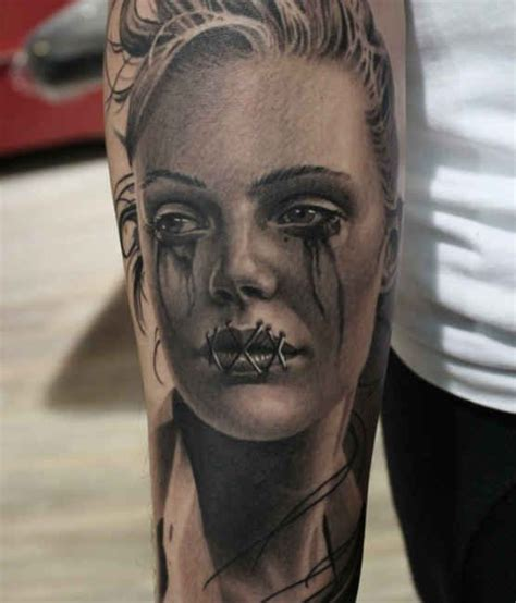 crying tattoo 1000 ideas about arm tattoos on