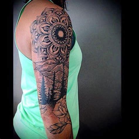 mountain tattoo sleeve best 20 mountain tattoos ideas on mountain