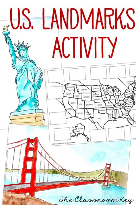 usa map with landmarks united states us landmarks research paper social