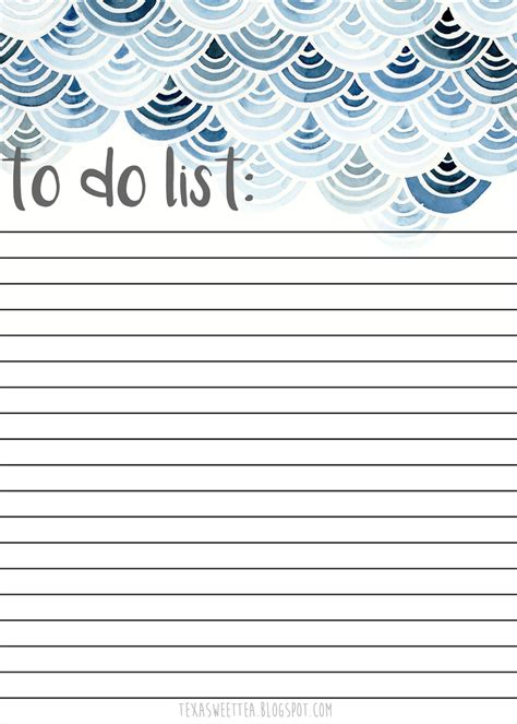 To Do Printable