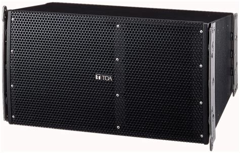 Speaker Toa Array toa sr a12swp 2 way line array speaker system