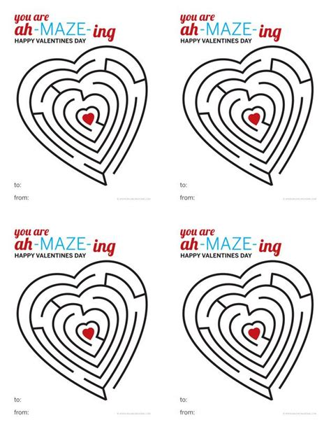 printable heart maze 13 best diy massage gift coupons images on pinterest