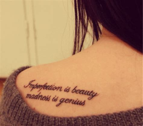 imperfection is beauty tattoo 50 inspirational quotes