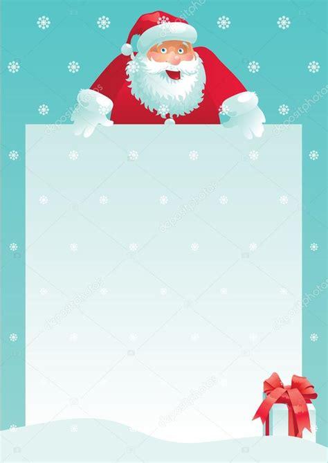 santa claus gift box christmas letter stock