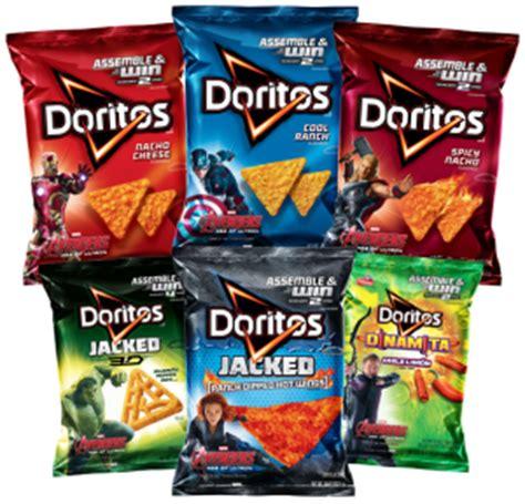 Doritos Sweepstakes - doritos assemble the avengers promotion enter your bag codes at avengers doritos com