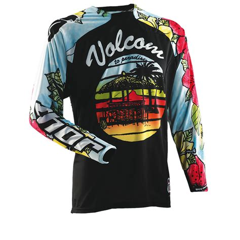 volcom motocross gear thor core s14 volcom aloha motocross jersey clearance