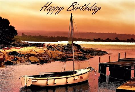 fishing boat birthday images quot greeting card happy birthday boating fishing