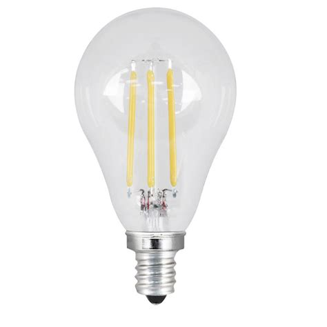 Feit Electric 40w Equivalent Daylight A15 Dimmable Clear A15 Led Light Bulb