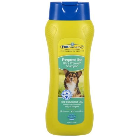 puppy frequent furminator frequent use ultra premium shoo for dogs naturalpetwarehouse