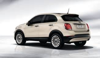 Fiat Crossover Fiat S 500x Small Crossover Revealed Will Be Sold In U S
